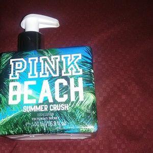 New Pink beach crush summer